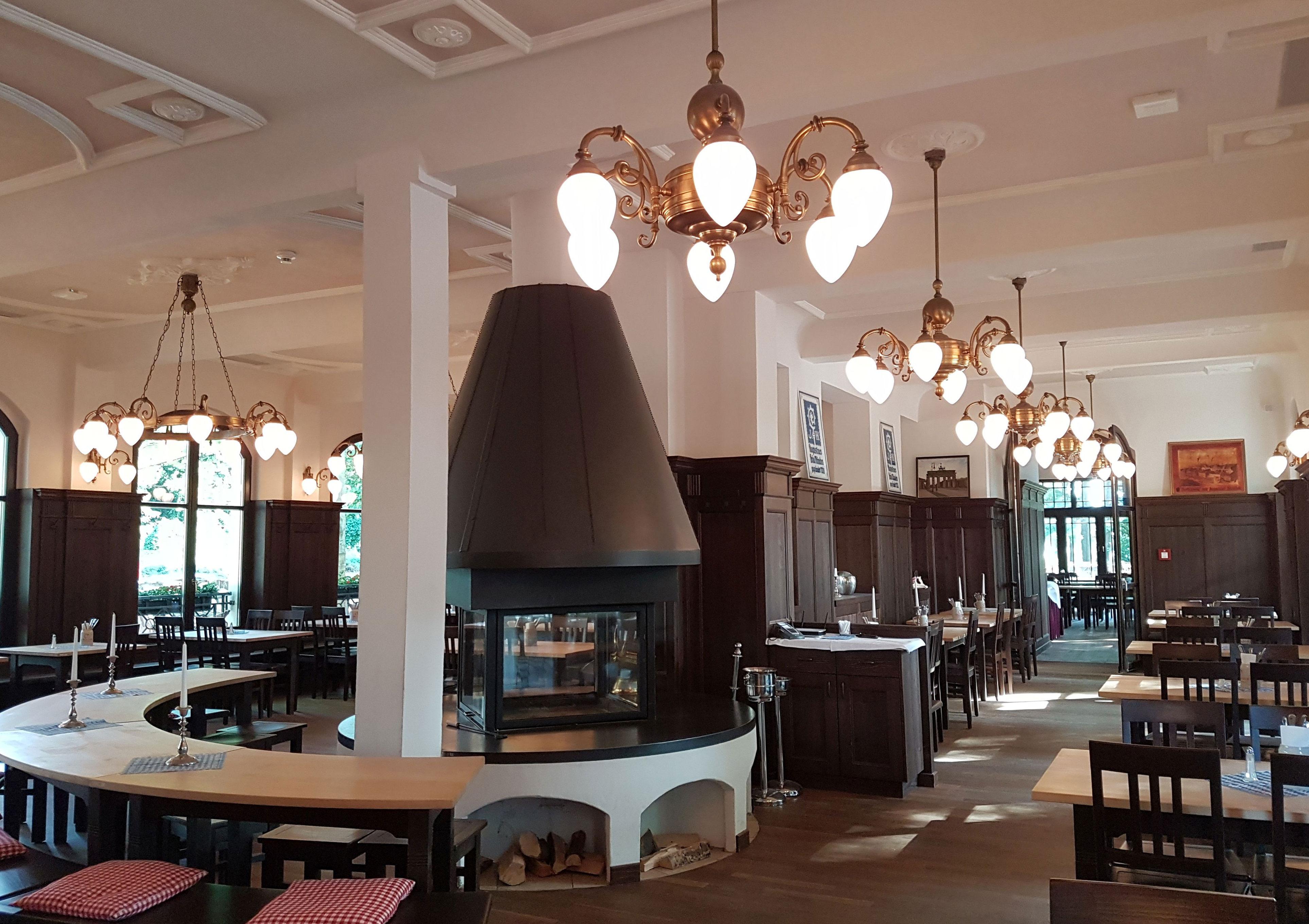 Restaurant-Innenansicht